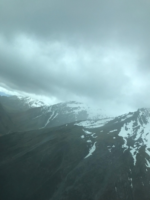 Storm clouds on the way to Queenstown