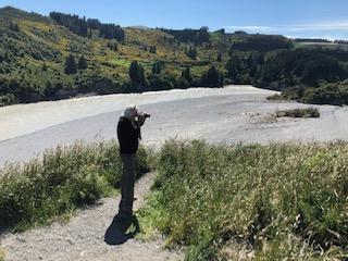 Jim at Rakaia Gorge